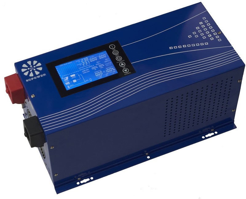 SC-GA 3KVA solar+AC hybrid inverter